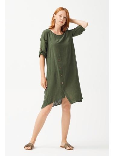 Love My Body Elbise Yeşil